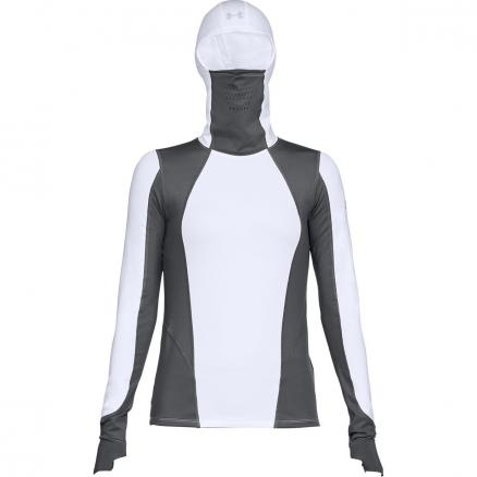 Женский лонгслив Under Armour ColdGear ® Reactor Run Hooded LS 1298158-100
