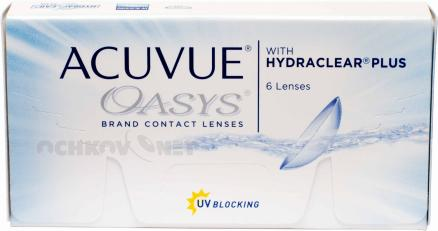 Acuvue Oasys with Hydraclear Plus 6 линз  6 линз
