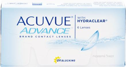 Acuvue Advance with Hydraclear 6 линз 6 линз