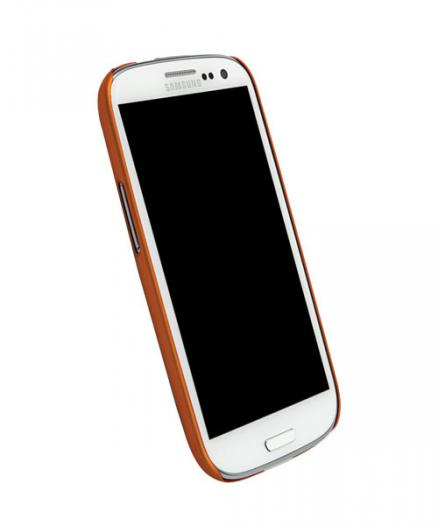 Чехол для Galaxy S III Krusell ColorCover Orange