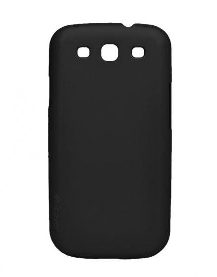 Чехол для Galaxy S III iCover Rubber black