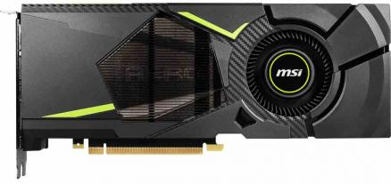 MSI GeForce RTX 2080 Aero 8Gb DDR6 (RTX 2080 AERO 8G)