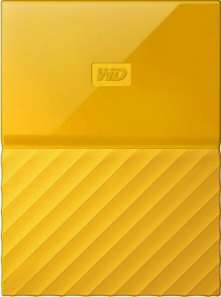 Western Digital My Passport 2 TB (WDBLHR0020B) желтый