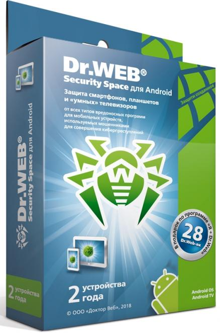 Dr.Web Mobile Security (BHM-AA-24M-1-A3)