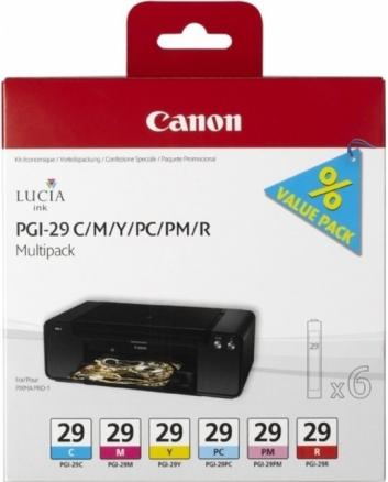 Canon PGI-29 C/M/Y/PC/PM/R Multipack (4873B005)