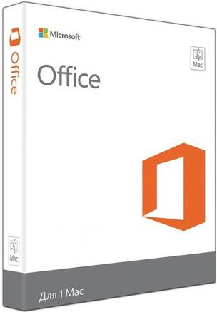 Microsoft Office Mac для дома и бизнеса 2016
