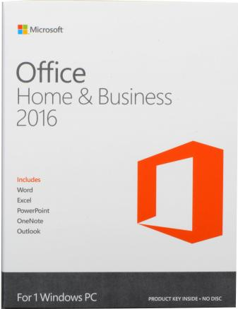 Microsoft MS Office Home and Business 2016