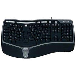 Microsoft Natural Ergonomic Keyboard 4000, USB (черный) - Клавиатура