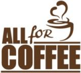 Логотип All4coffee (Олл4кофе)